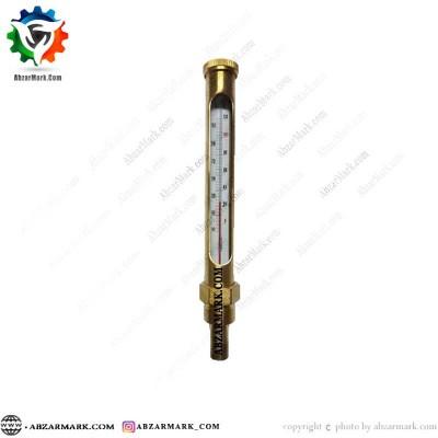 ترمومتر الکلی پکنز PAKKENS اتصال عمودی 10- تا 120+ درجه