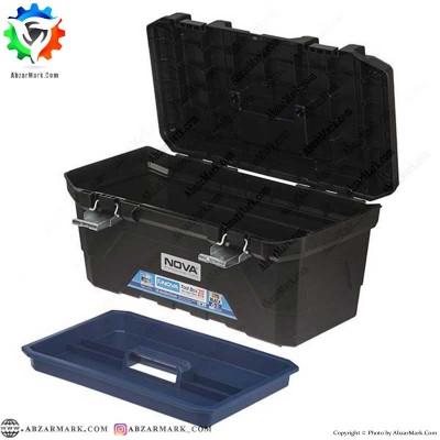 جعبه ابزار با قفل فلزی نووا NOVA مدل NTB 6220