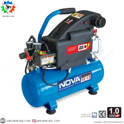 کمپرسور باد 10 لیتری نووا NOVA مدل NTA9010