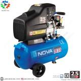کمپرسور باد 25 لیتری نووا NOVA مدل NTA 9025