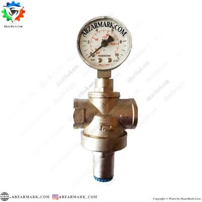 فشارشکن آب پکنز PAKKENS سایز 1/2 با مانومتر