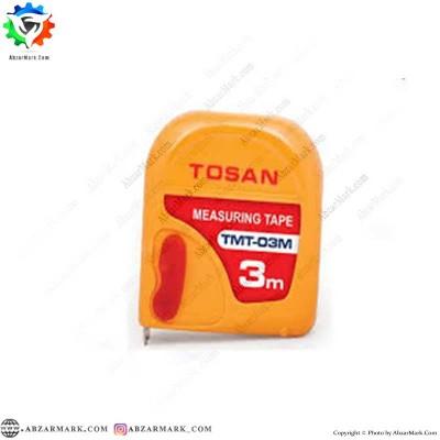 متر نواری 3 متری توسن TOSAN مدل TMT 03M