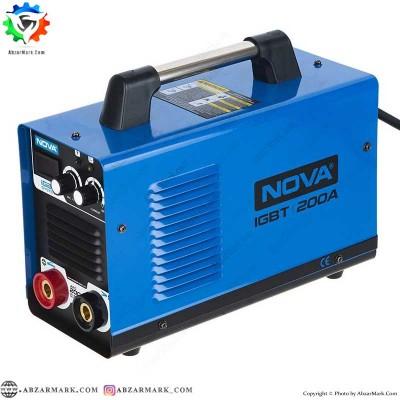اینورتر جوشکاری 200 آمپر نووا NOVA مدل NTI-2420